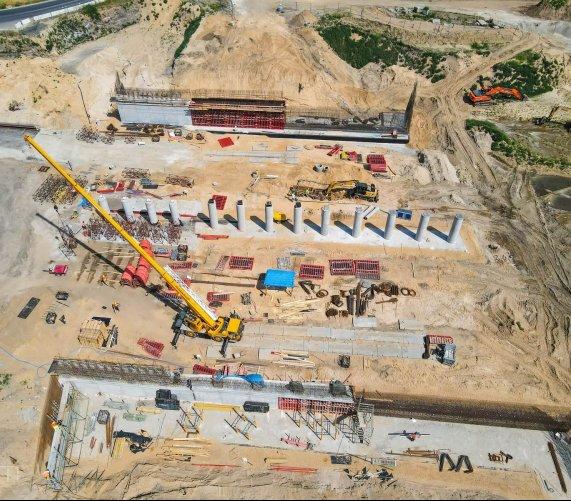 Poznań: budowa linii tramwajowej z dwoma wiaduktami