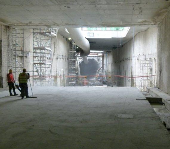 Już ponad 600 m ma tunel drogowy w Świnoujściu