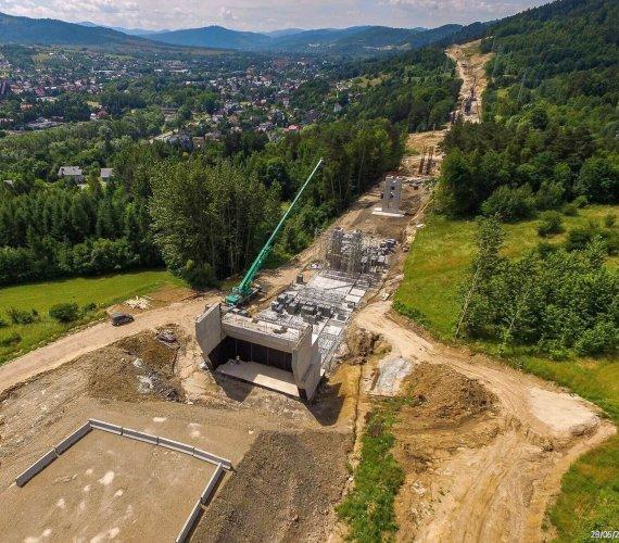 Rok budowy obejścia Węgierskiej Górki z tunelami i mostami