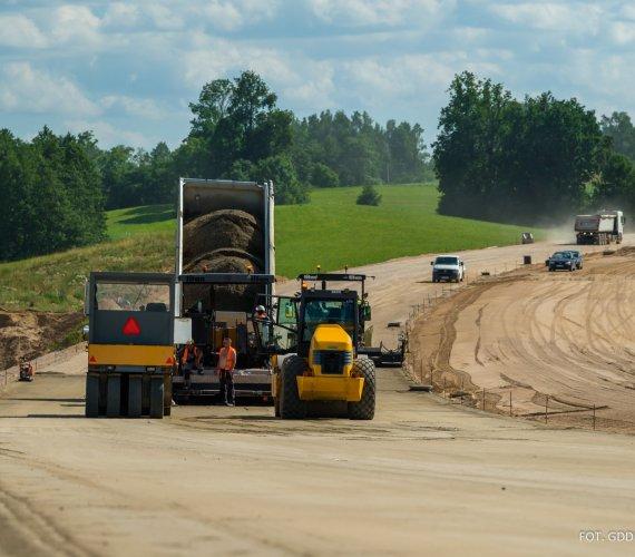 Co się dzieje na budowach S61 Via Baltica?
