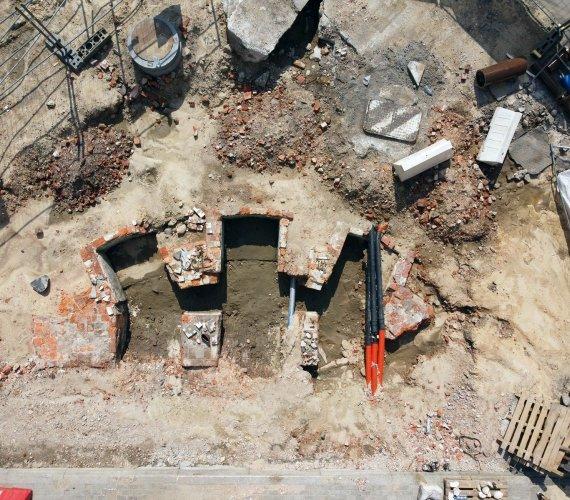 Archeologiczne odkrycie na budowie w Warszawie