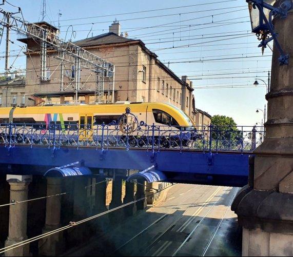 W Krakowie koleje odnawiają zabytkowe wiadukty – zdjęcia