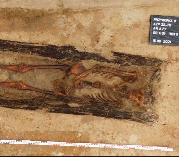 Ludzkie szczątki, i nie tylko, na budowie drogi S61