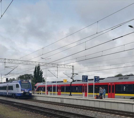 Szybsze podróże kolejowe między Łodzią a Zduńską Wolą