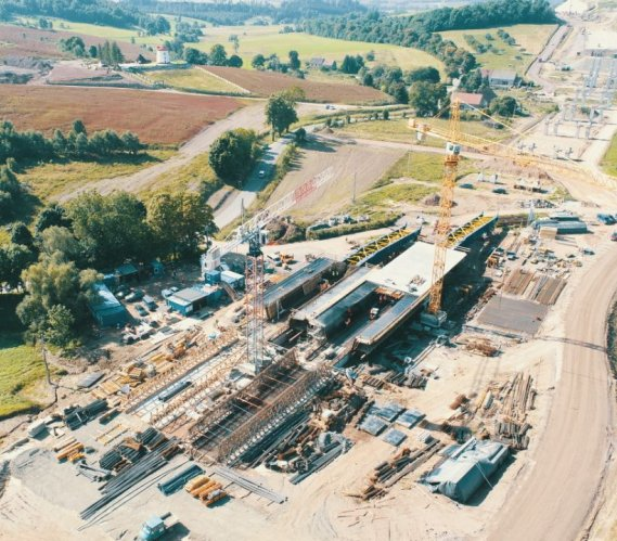 S3 Bolków–Kamienna Góra: budowa najdłuższego wiaduktu
