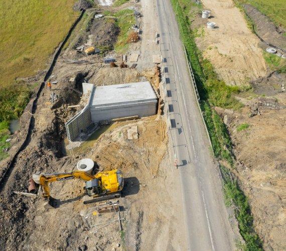 Modernizacja drogi do granicy w Medyce