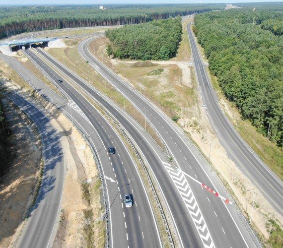 Budowa odcinka drogi ekspresowej S3 Polkowice–Lubin na zdjęciach