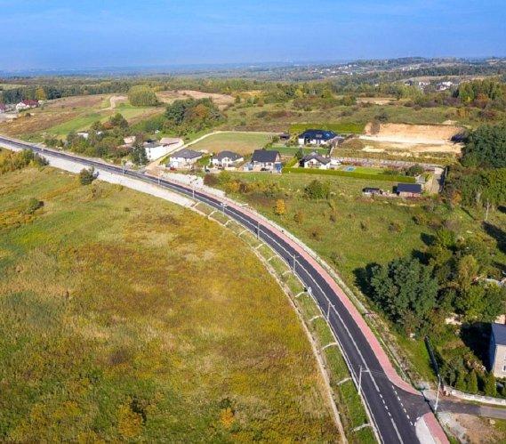 Koniec przebudowy drogi do Katowice Airport