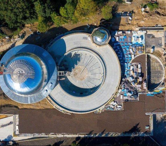 Planetarium Śląskie – kapsuła czasu na placu budowy