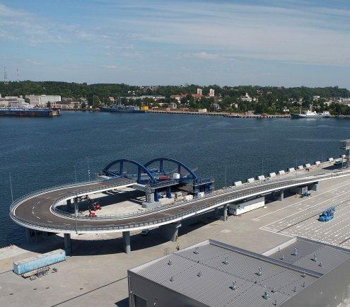 Nowy Publiczny Terminal Promowy w Porcie Gdynia
