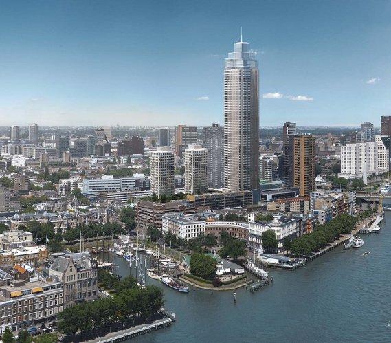 Tak prezentuje się najwyższy budynek w krajach Beneluksu