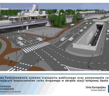 W Opolu powstaną dwa tunele i estakada [wizualizacje]