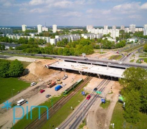 Tak budowano estakadę katowicką w Poznaniu