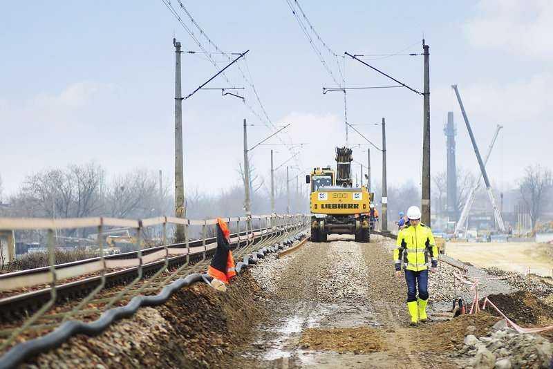 Budowa łącznicy kolejowej Kraków Zabłocie–Kraków Krzemionki