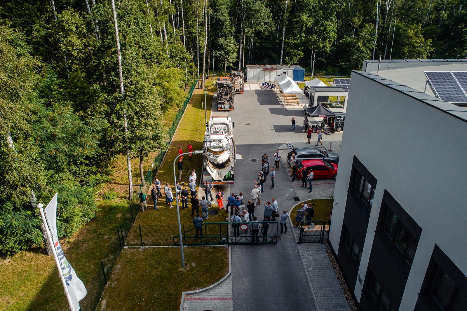 I Grand Prix Polski samochodów ciśnieniowo-ssących. Fot. Quality Studio dla GSG Industria sp. z o.o.