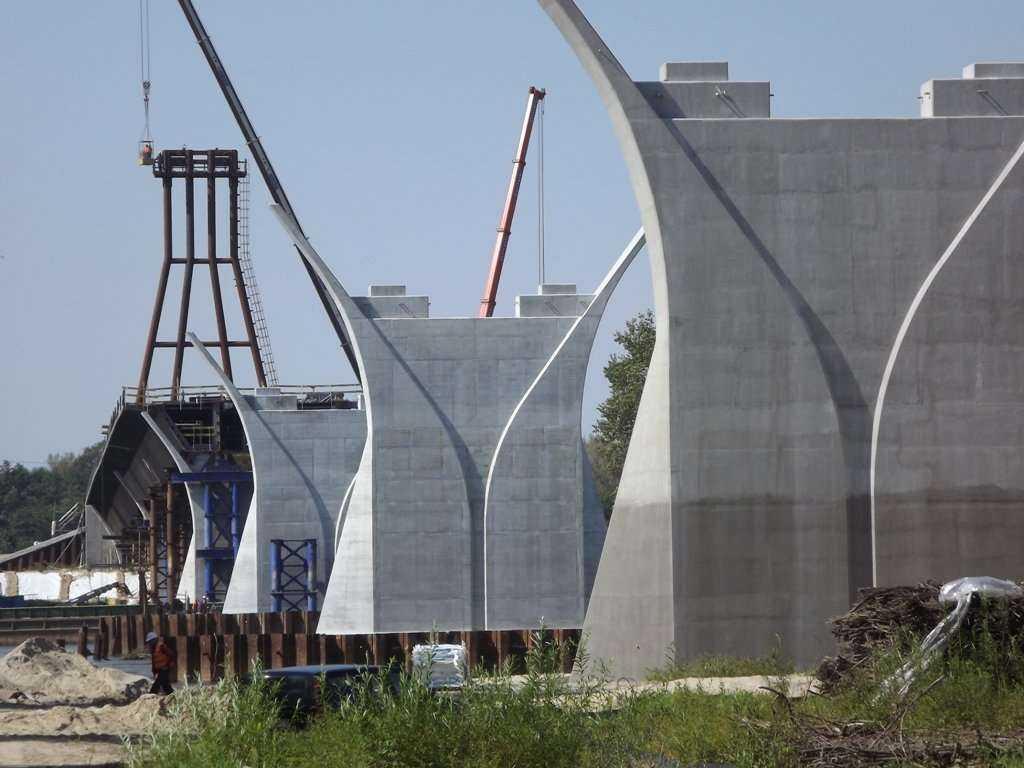 Budowa mostu łączącego lubelski Kamień i mazowiecki Solec