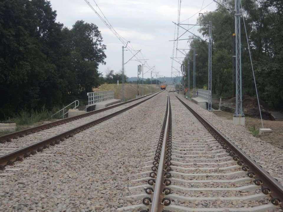 Modernizacja linii kolejowej z Krakowa do Balic