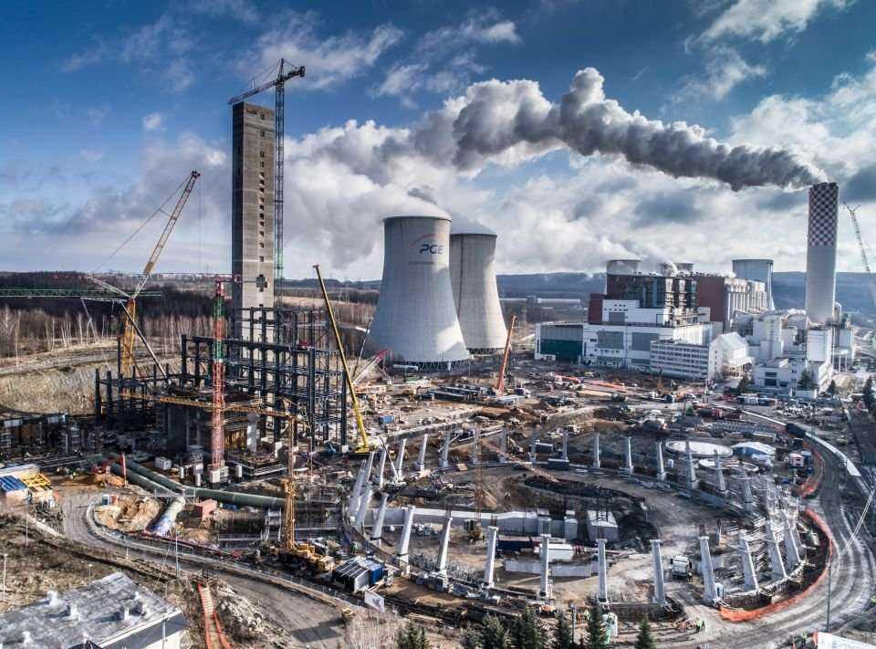 Budowa bloku o mocy 450 MW Elektrowni Turów