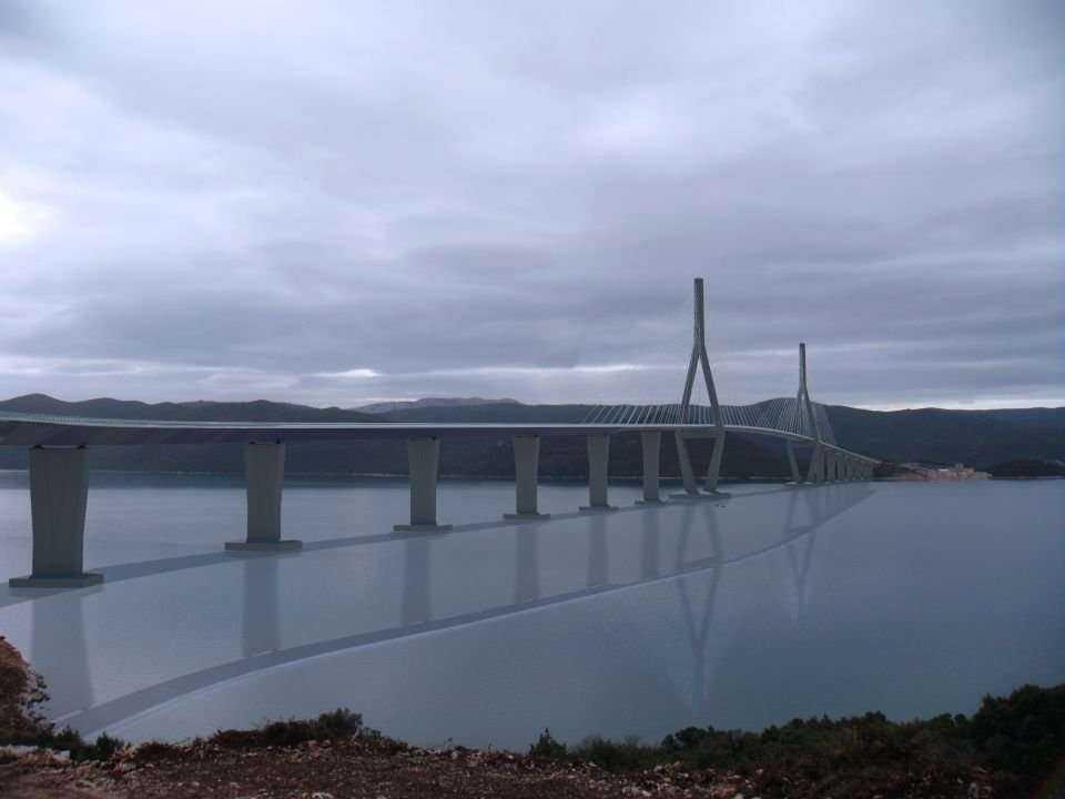 W Dalmacji powstaje długi most
