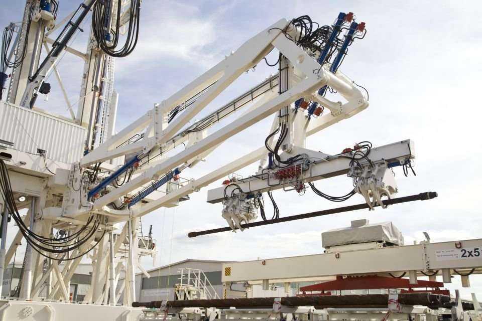 Wiertnia z systemem hydraulicznym będzie pracować w Syczuanie