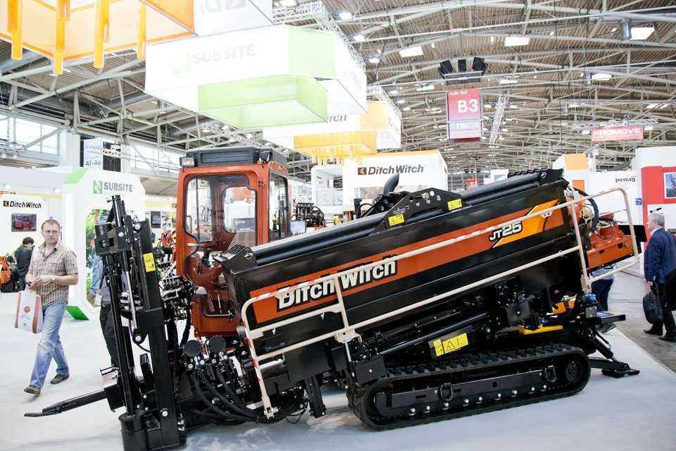 Bauma 2016, stoisko firmy Charles Machine Works, producenta maszyn Ditch Witch® / fot. Quality Studio dla www.inzynieria.com