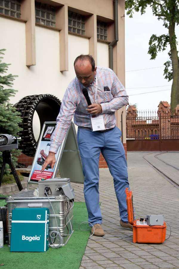 Pokaz firmy DTA-TECHNIK sp. z o.o. podczas warsztatów / fot. Quality Studio dla www.inzynieria.com
