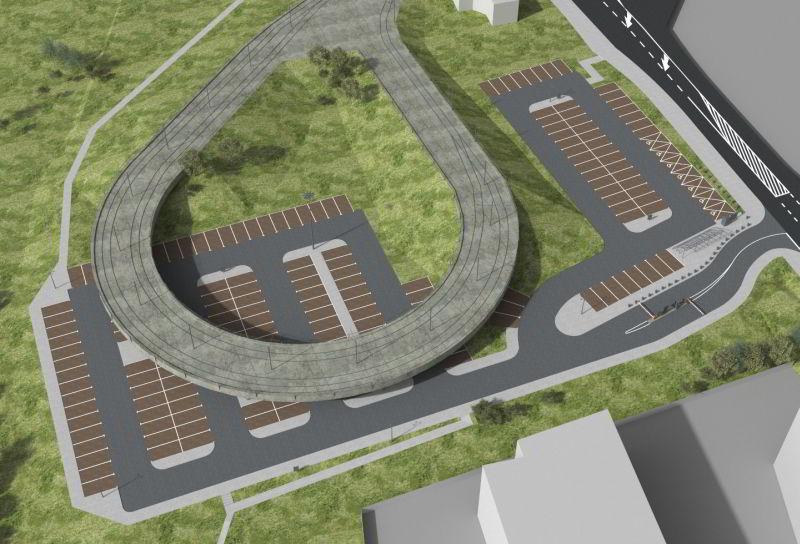W Krakowie powstanie parking pod pętlą tramwajową