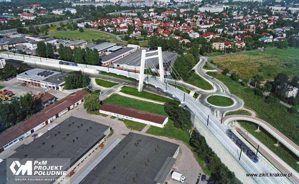 Wizualizacje estakady Lipska - Wielicka