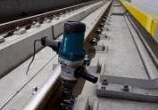 Przygotowania do przejazdów testowych pociągów metra. Odcinek wschodni północny II  linii metra. Fot. Metro Warszawskie
