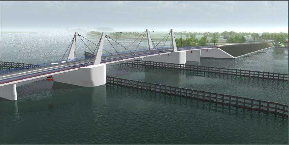 Jak będzie wyglądać nowy most zwodzony na Wyspę Sobieszewską w Gdańsku?