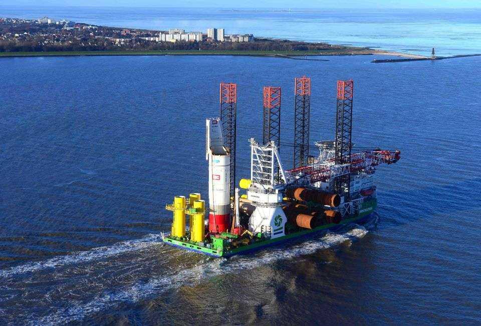 Kolejna farma wiatrowa na Morzu Północnym - 332 MW