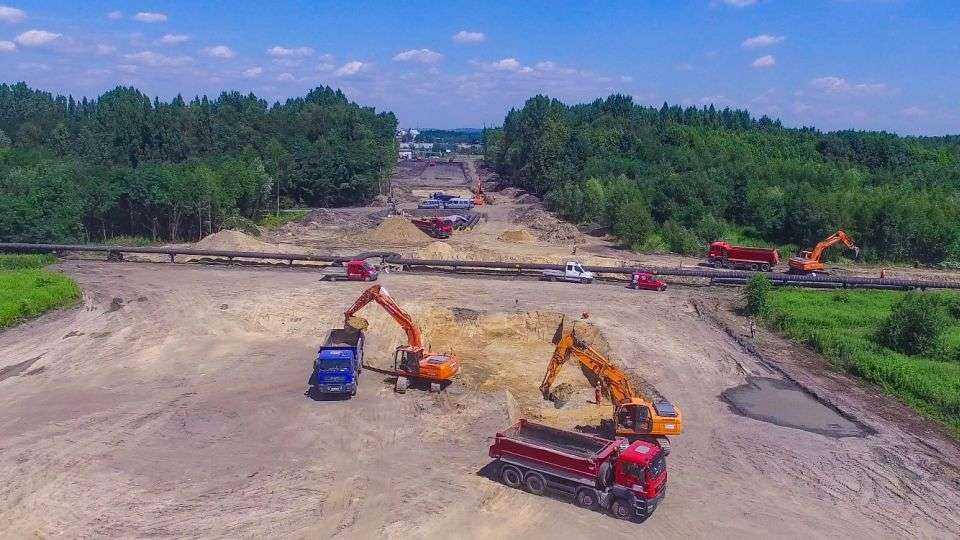 Budowa trasy N-S w Rudzie Śląskiej