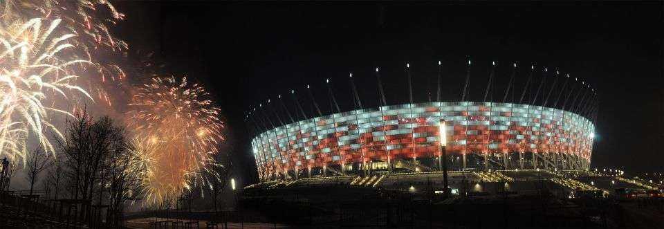 Stadion Narodowy w Warszawie w końcu otwarty
