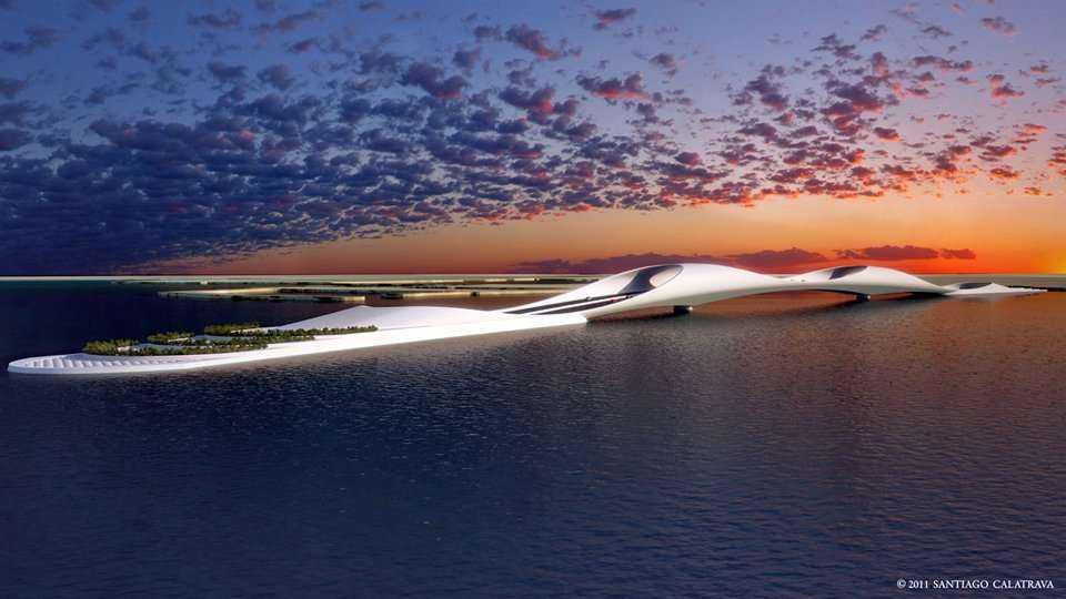 Nowa przeprawa mostowo-tunelowa w Katarze