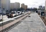 Stacja Trocka – plac budowy. Fot. Metro Warszawskie