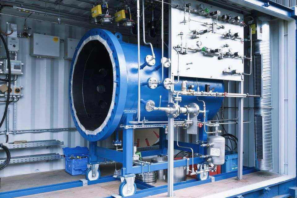 Instalacja produkująca paliwo z wody i dwutlenku węgla