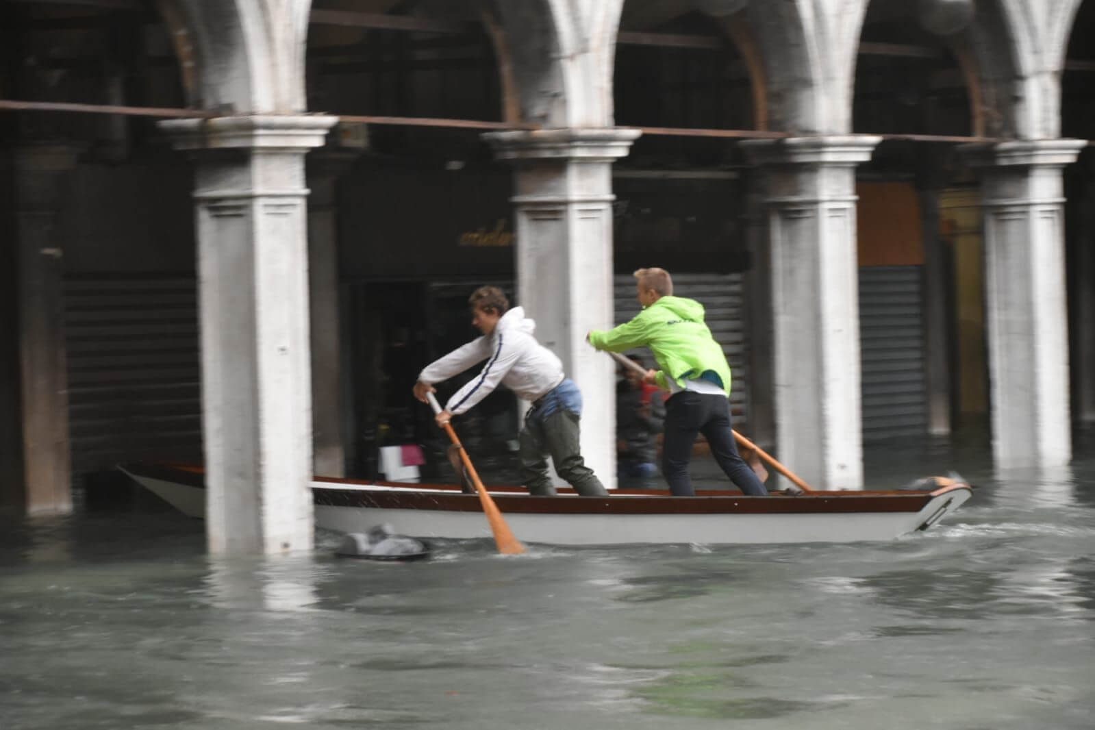 Wenecja, 29.10.2018. Fot. Comune di Venezia / Facebook