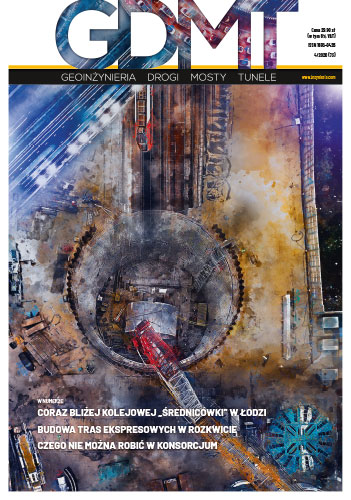 Czasopismo GDMT geoinżynieria drogi mosty tunele 4/2020 [73]