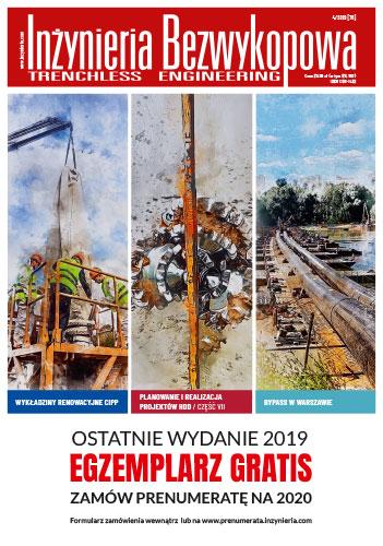 Czasopismo Inżynieria Bezwykopowa 4/2019 [76]