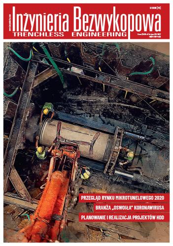 Czasopismo Inżynieria Bezwykopowa 2/2020 [78]