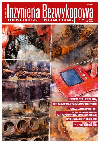 Czasopismo Inżynieria Bezwykopowa 1/2021 [81]