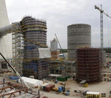 Raport z prac na budowie bloku Elektrowni Jaworzno