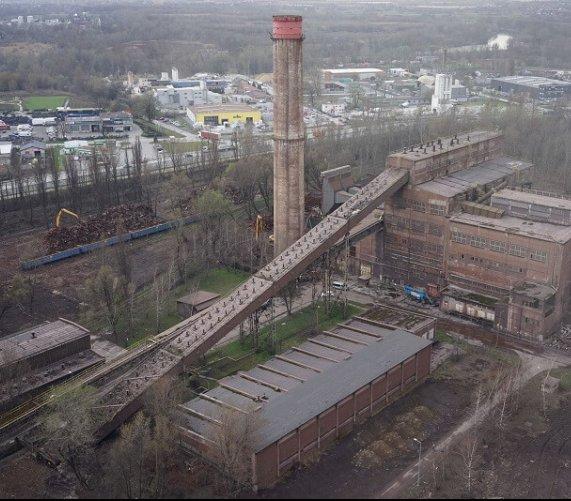 Z krajobrazu Krakowa zniknął komin dawnej spiekalni