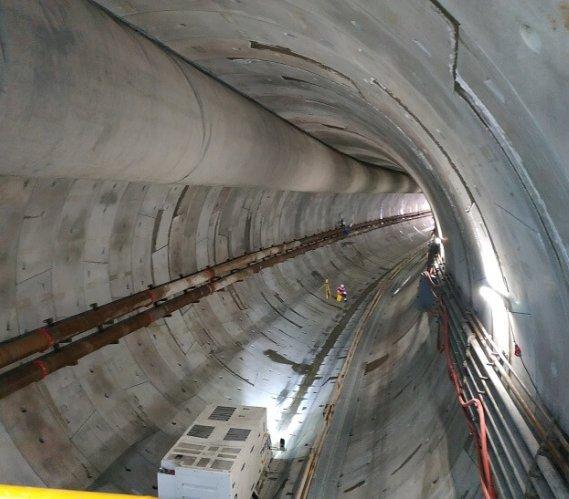 TBM Wyspiarka wydrążyła już prawie 400 m tunelu