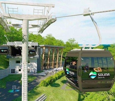 Solina: zaczęła się budowa widokowej kolei linowej