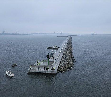 To efekt robót hydrotechnicznych w gdańskim Porcie Północnym
