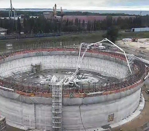 Świnoujście: budowa zbiornika w terminalu LNG
