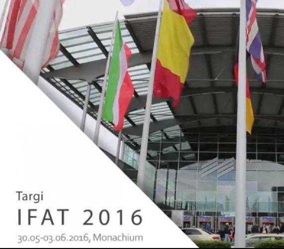 Wideorelacja z targów IFAT 2016