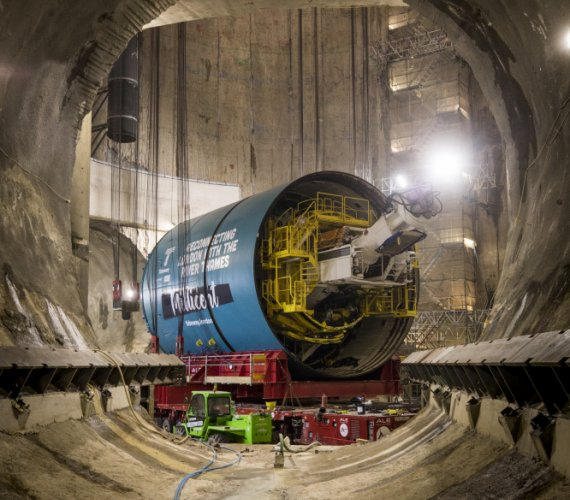 London Thames Tideway: maszyny TBM przygotowywane do drążenia