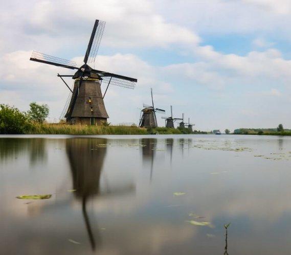 W Holandii można zobaczyć prawie 300-letnie wiatraki